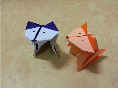 Origami  Dog puppy Tutorial