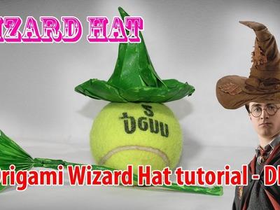 Origami Wizard Hat tutorial - DIY ♡ Origami THs.