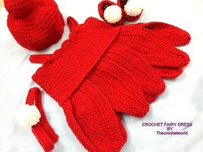 CROCHET  BABYTINKER BELL COSTUME-A