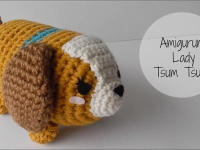 Crochet Lady Tsum Tsum Amigurumi Tutorial