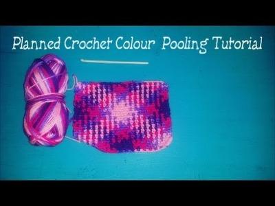 Crochet Planned Yarn Pooling Tutorial