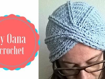 Crochet turban by Oana