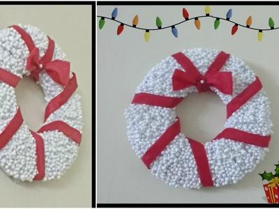 DIY Christmas Wreath || Christmas Decoration Ideas 1