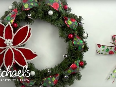 DIY Holiday Wreath | Michaels