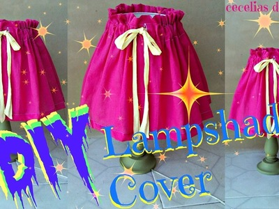 DIY Lampshade Cover Easy