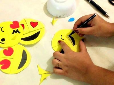 DIY - paper crafting- how to make Emo. EMOJI . .