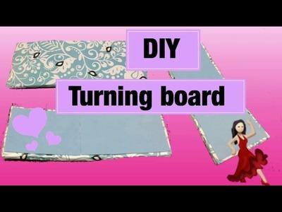 DIY turning board for dancers