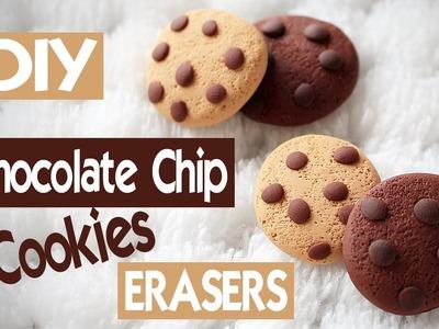 ERASER Chocolate Chip Cookies DIY! Fun Back to School Tutorial!