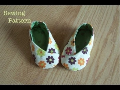 Hand Embroidery    How to Sew Baby Shoes