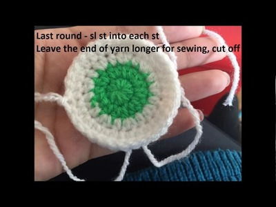 How to chrochet - owl hat - step by step - free pattern