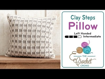 How to Crochet A Pillow: Clay Steps