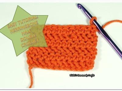 How to do the Herringbone Half Double Crochet (Hbhdc) stitch