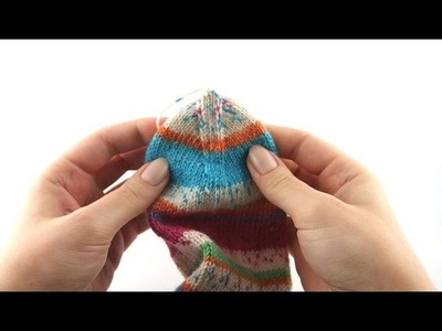 How to Knit Socks #8 Kitchener Stitch