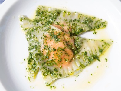How To Make Carrot Ravioli & Carrot Top Pesto