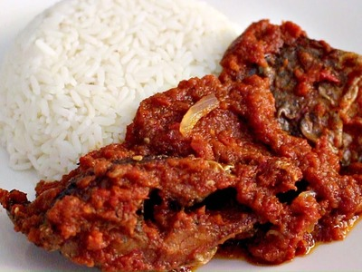 How to Make Fried Fish Stew
