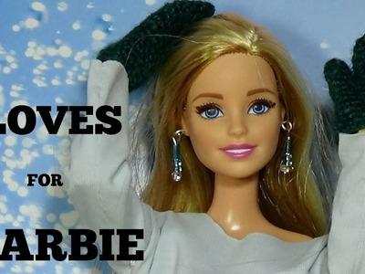 How to make gloves for doll DIY For Dolls Gloves