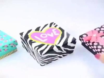 How To Make Handmade Gift Box | handmade birthday gifts for friends
