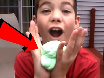HOW TO MAKE SLIME (SO EASY)