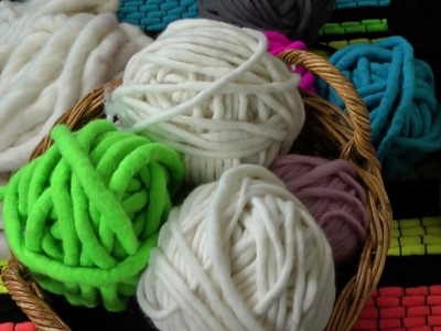 How to spin chunky yarn