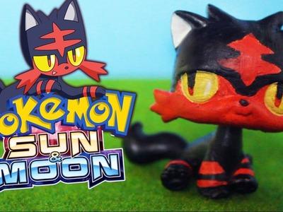 LPS Litten Pokemon Custom Littlest Pet Shop DIY Tutorial  | Alice LPS