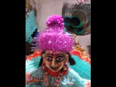 Make wollen cap without knitting or crochet - most easy way of making woolen cap for our bal gopal