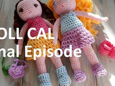 Miniature Crochet Shoes, Booties and Bag - Final CAL Episode