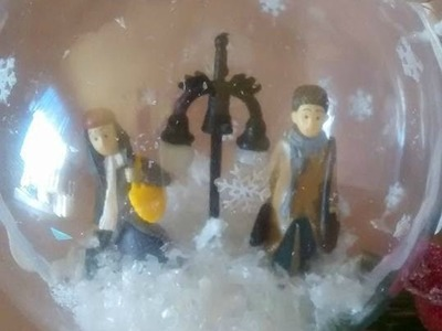 Returning Home Christmas Plastic Bauble Tree Ornament DIY.Tutorial 2016