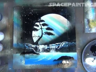 Spray Paint Art - Linear