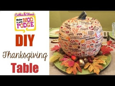 6 Ideas: How to Make a Thanksgiving Tablescape On a Budget!
