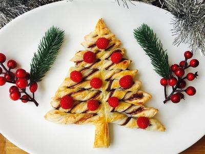 Easy Christmas recipe: How to make a Nutella twist Christmas tree