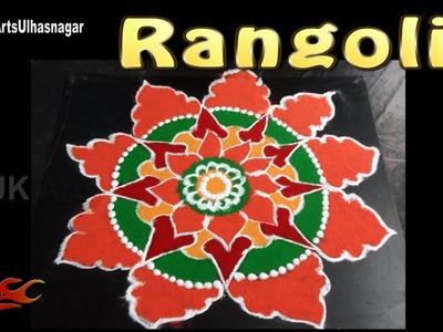 Easy Diwali Special Rangoli | Sanskar Bharati Rangoli  | How to draw | JK Arts 1123