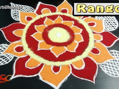 Easy Diwali Special Rangoli | Sanskar Bharati Rangoli  | How to draw | JK Arts 1120