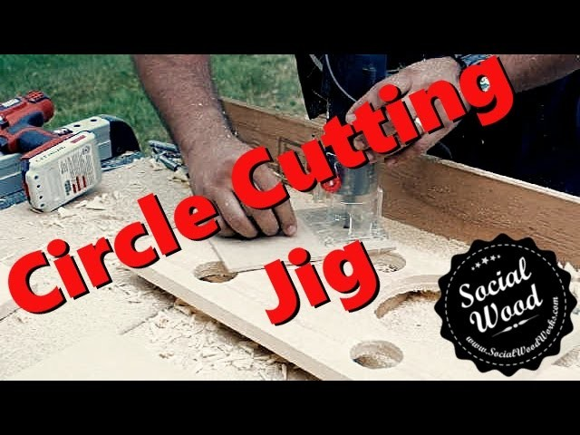 How to Build a Circle Cutting Jig for Your Router - Workshop Hack
