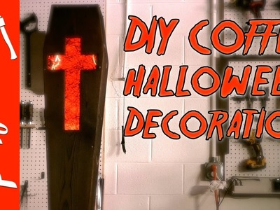 How To Build A Coffin (DIY Halloween Decorations. Crafts) | Crafted Workshop