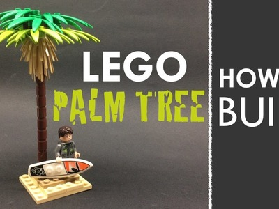 How to Build a LEGO Palm Tree! (Tutorial)
