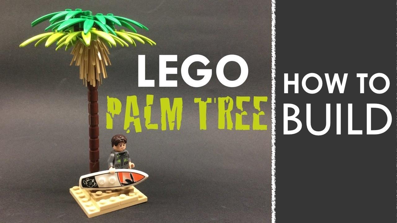 How to Build a LEGO Palm Tree! (Tutorial)