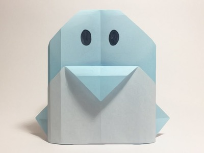 HOW TO FOLD A PENGUIN | ORIGAMI FOR KIDS