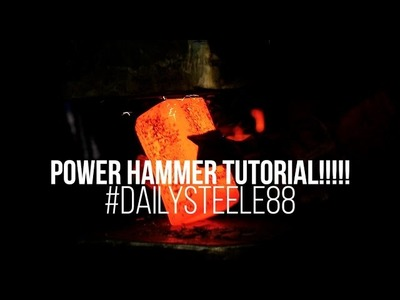 How to Forge a Square Hammer Billet