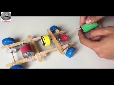 How to make a car with remote controlled very simple- By Addison