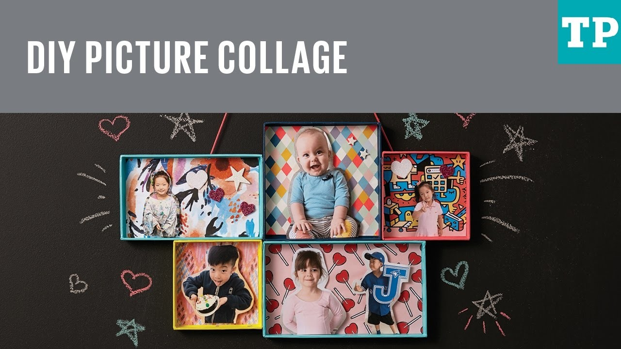 How to make a picture frame collage