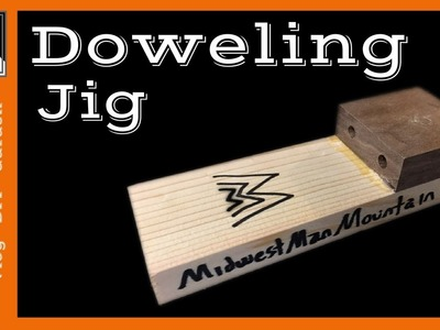 How to Make a SUPER SIMPLE Doweling Jig