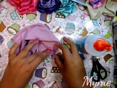 How to make a Turban.hand made.crafts.hairbows.tutorial #1