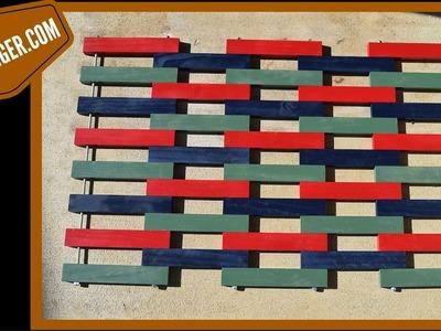 How to Make a Wood Doormat (woodlogger.com)