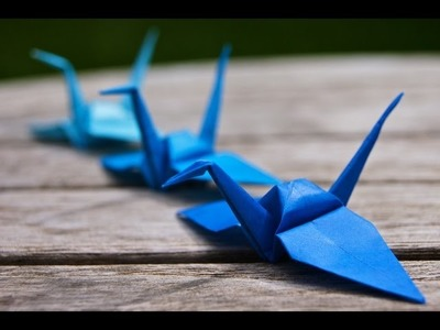How To Make Amazing Paper Crane Origami - Creative paper tricks