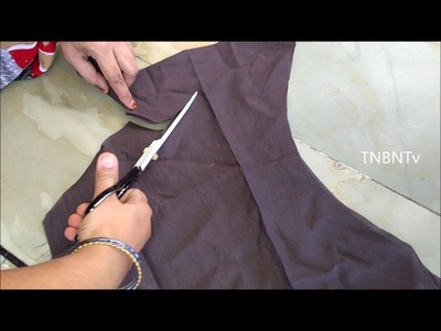 How to make designer blouse cutting | designer blouse cutting and stitching tutorial, DIY