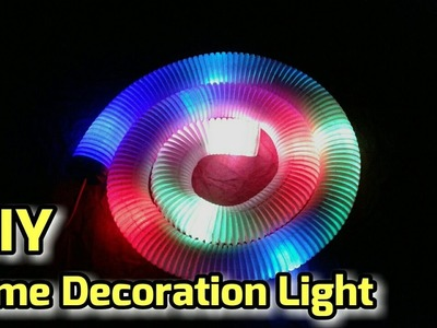 How To Make Home Decoration Lights At Home Easy Diwali Decoration Ideas