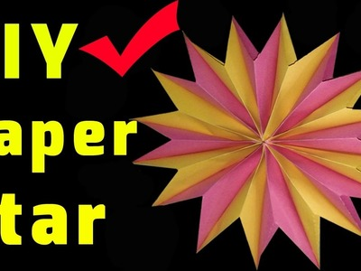 How To Make Paper Star At Home  Diwali Decoration Ideas