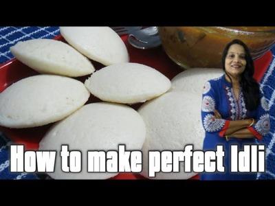How to make perfect Idli (in Hindi with English subs) | Perfect Idli