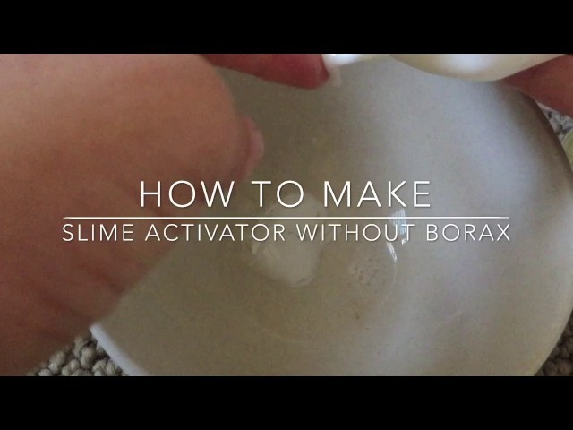 How to make slime activator without borax how to make slime activator h3vn og ccuart Images