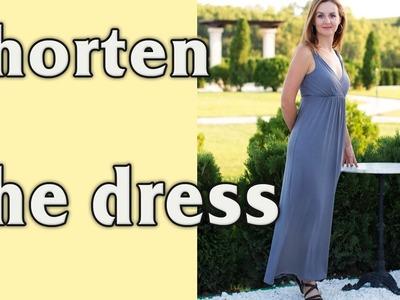How to Shorten and Hem a Dress (Skirt) or a T-shirt